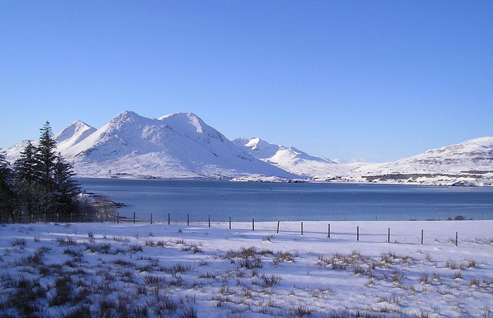 Cuillin from Allt Arais, Isle of Raasay