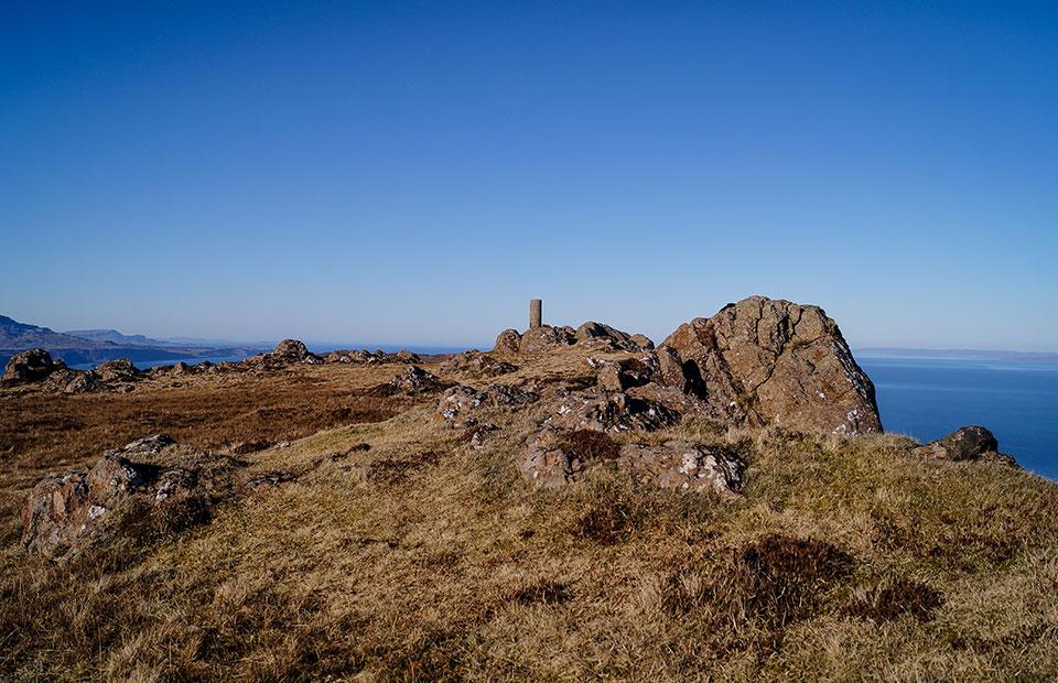 Dun Caan Summit, Isle of Raasay